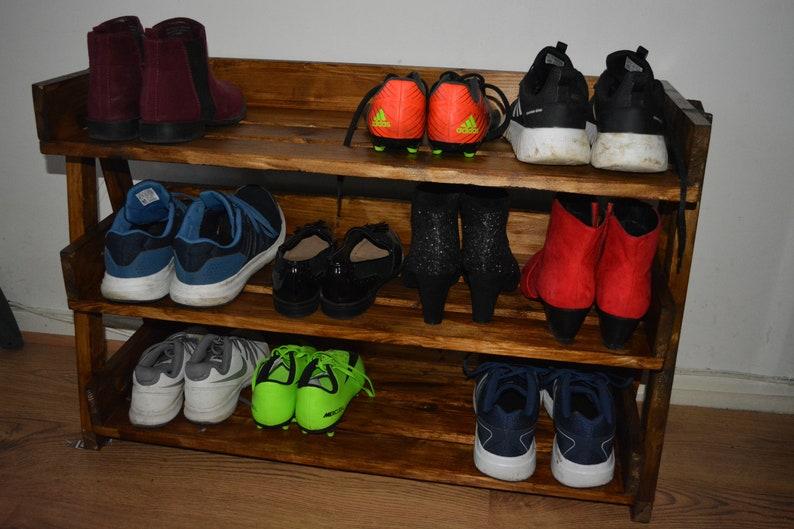 Wooden Shoe Rack Storage, Wooden , Rack , Livingroom, Home, Hallway