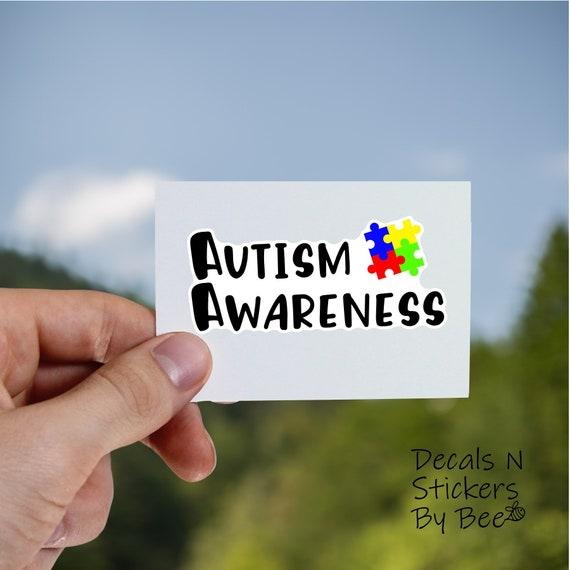 Autism Awareness Powder Coated Tumblerpersonalizedcustom Etsy
