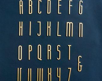 "Brass Letter C Large 6"" Typeface Alphabet Font Antique Vintage Reclaimed Item"