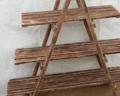 3 Tier Wooden Ladder Shelf