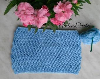 Crochet cowl scarf neckwarmer for kids
