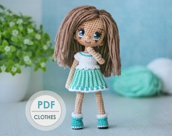 Best Crochet Amigurumi Doll Pdf Free Patterns | Kroşe, Ücretsiz ... | 270x340