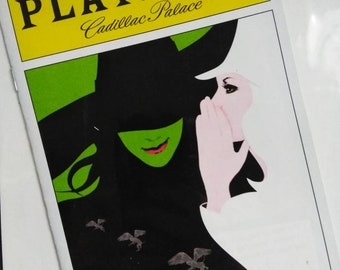 Wicked Playbill - Chicago Cadillac Theatre