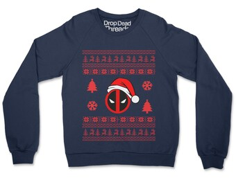 Dedapool Christmas Jumper Funny Ugly Xmas Sweater Gift Unisex Adults /& Kids