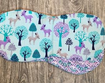Deer Forest Burp Cloth