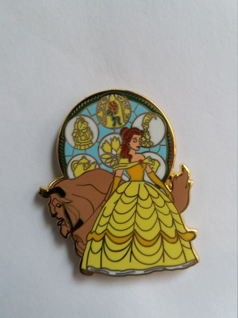 Pin Disney Fantasy Kingdom Hearts Beauty and the Beast image 0