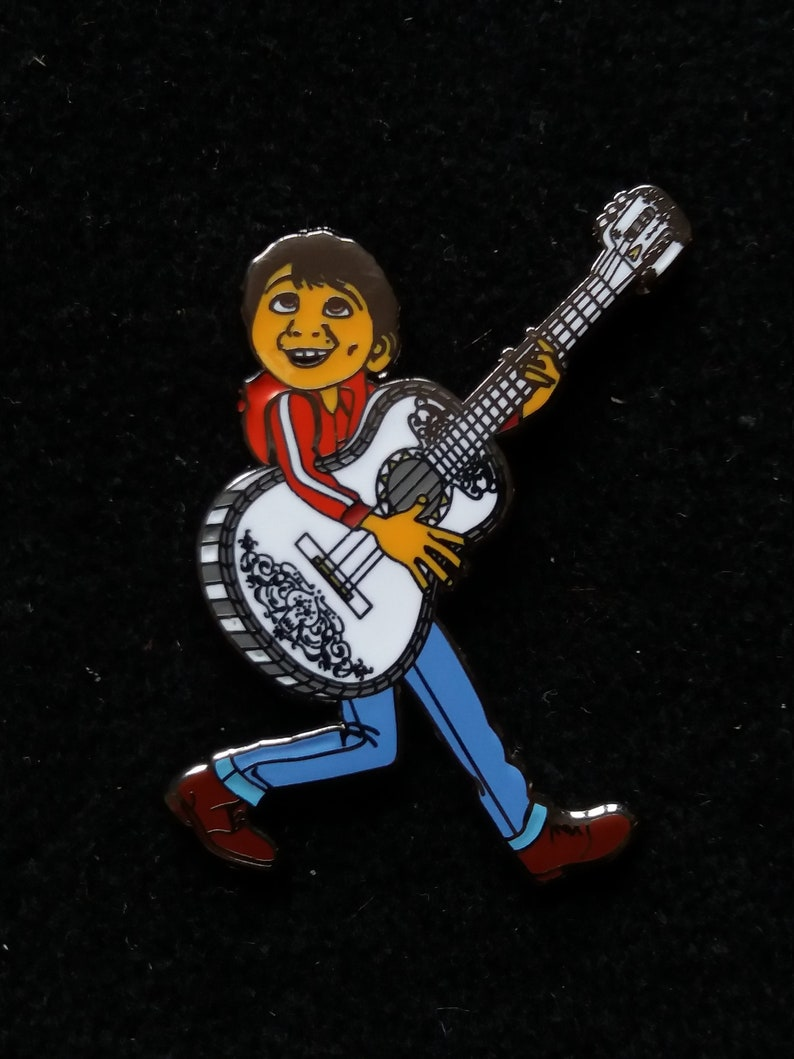 Pin Disney Fantasy Miguel Coco playing the guitar  Boom image 0