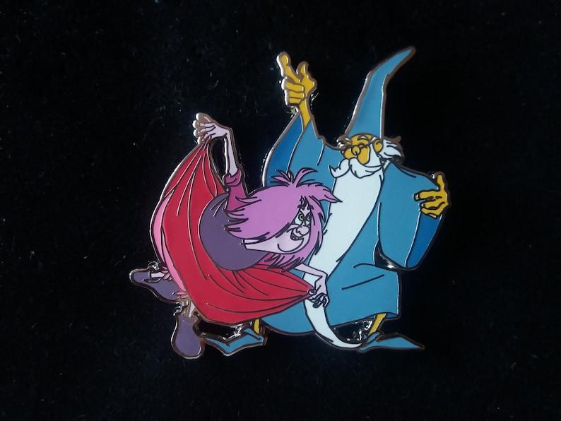 Pin Disney Fantasy Merlin Madame Mim dancing image 0