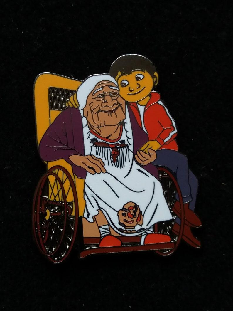 Pin Disney Fantasy  Coco grandma with Miguel   Boom Fantasy image 0