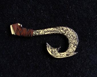 Pin Disney Fantasy - Maui Weapon from Moana  - Boom Fantasy Pins