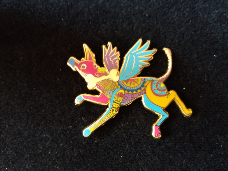 Disney Fantasy Pin  Danta Dog from Coco Film image 0