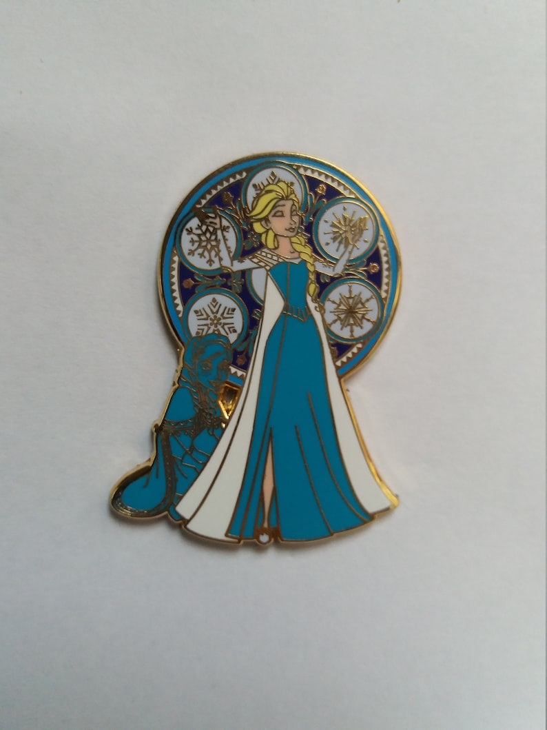 Pin Disney Fantasy Kingdom Elsa Frozen image 0
