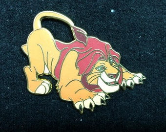 pin disney fantasy - Mufasa from Lion King - 2 inches - limited 35 pins