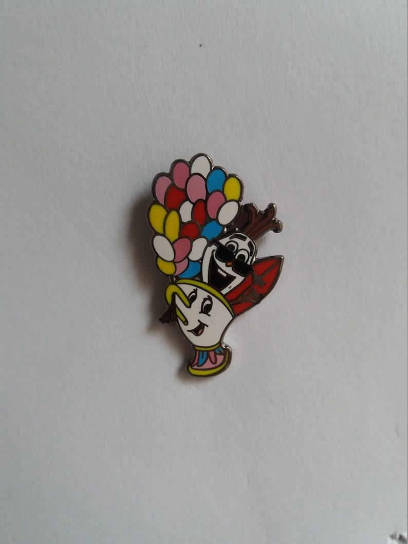 Pin Disney Fantasy Chip Olaf Up balloons image 0