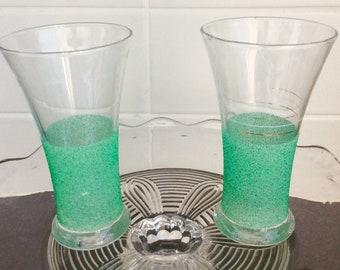 Drinking glasses, 1950s/1960s glasses, vintage drinking glasses, retro design