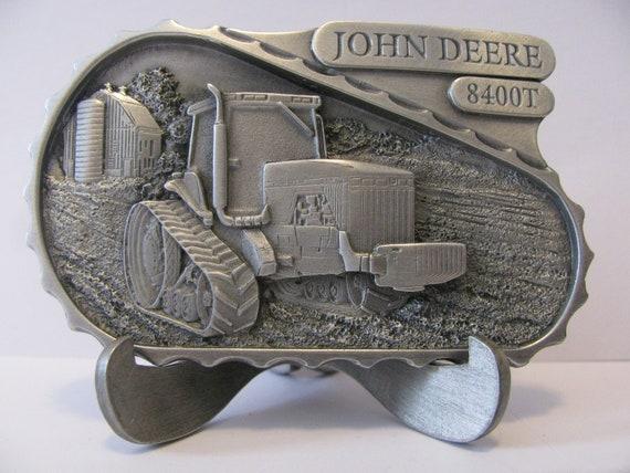 John Deere 1989 Model A Pewter Belt Buckle NEW in Box