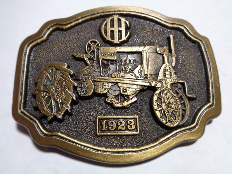 IH International Harvester Farmall REGULAR Tractor Belt Buckle Limited  Edition 1st in the Series
