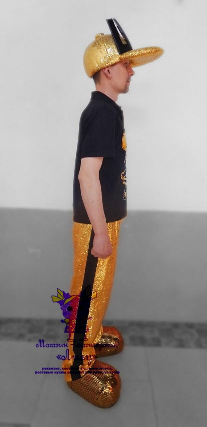 Animator-actor suitCosplayMasquerade costume Golden Host