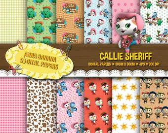 Callie Sheriff Digital Paper