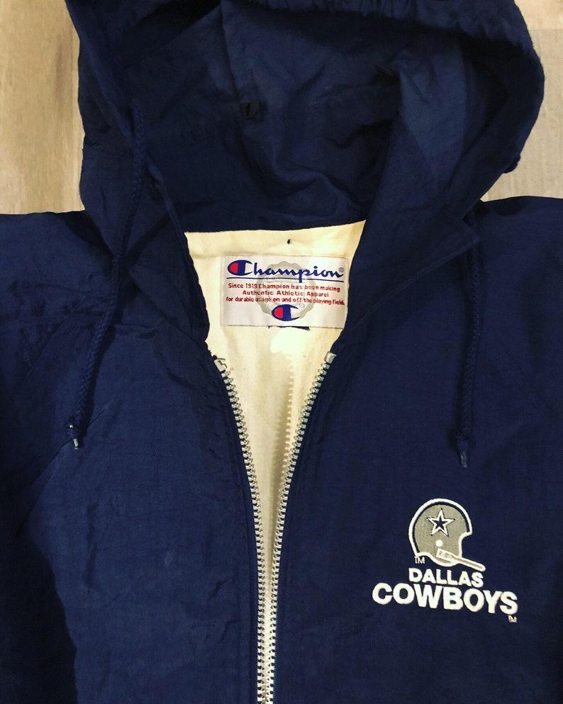 half off 2c197 f0597 Vintage Champion Dallas Cowboys NFL Sideline jacket