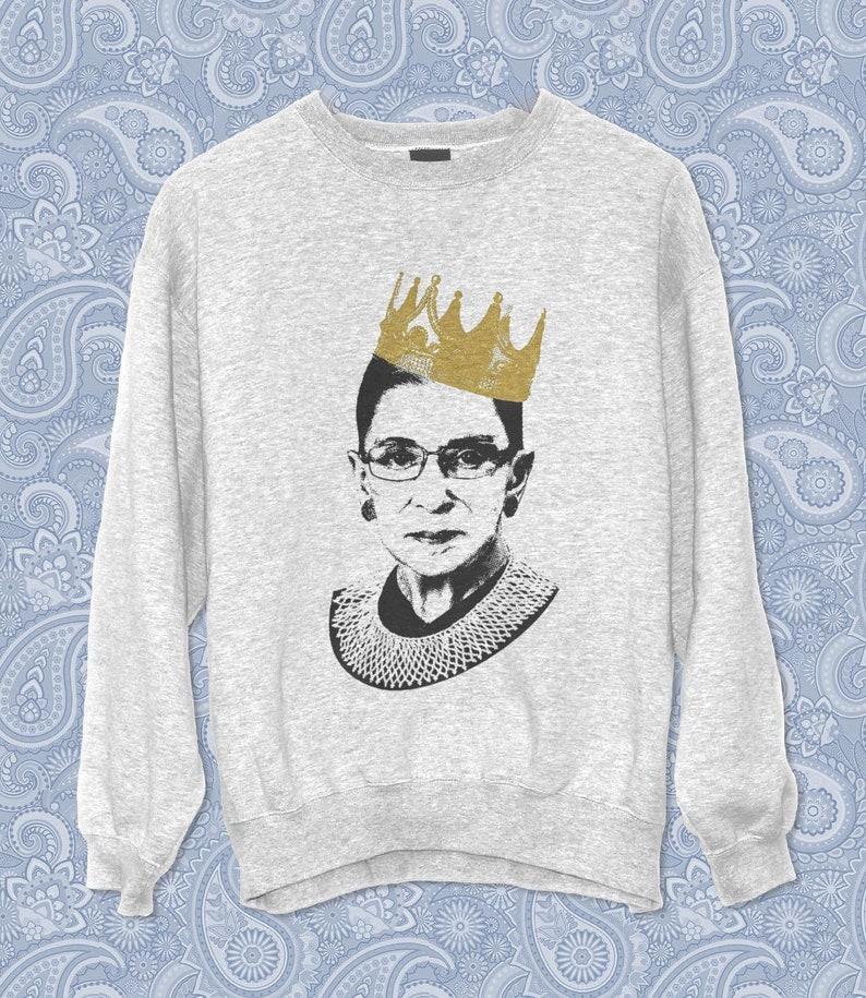 c26daa15 Notorious RBG Sweatshirt Vintage style I dissent Gift   Etsy