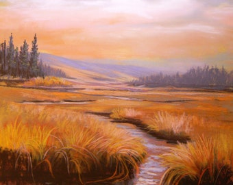 Montana landscape, After the Rain,Wise River