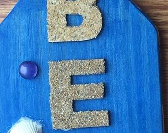 Beach Seashell Sign