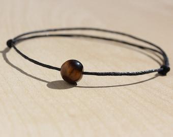 Tiger Eye Bracelet Mens Gifts For Men Women Bff Vegan Friendship Birthday Him Gift Ideas