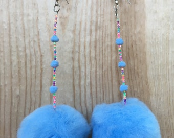 Bubbles puff earrings