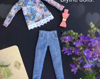 Blythe jeans , blythe blouse , blythe clothes .