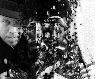 "Photomontage ""Tom Waits"""
