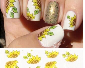 Flower nail art | Etsy