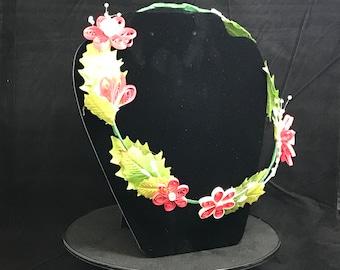 Quilled Flower Tiara