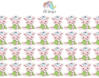 DeeDee Poorly Ill Pink Dragon - Character Sheet