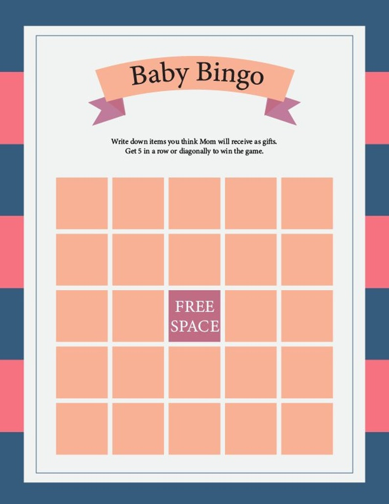 photo regarding Printable Answer Sheet identified as Kid Shower Game titles, Crimson, Blue, Fast Printable, Countless Prints, 6-Activity Offer + Option Sheet