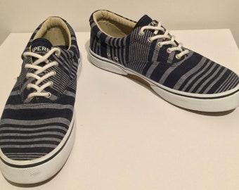 Men's Sperry Striper CVO Textured Sneaker Size 11 Shoe Top Sider Memory Foam