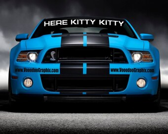 Ford Mustang GT500 Banner