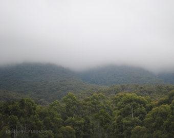 Grampians in the Mist, Australia, Photography Print, Fine Art, Landscape, Photography, Valley, Print, Image,Artwork, Photo Print, Canvas