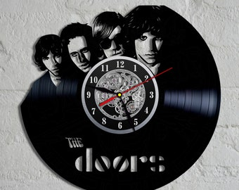 The Doors vinyl clock Doors decor Doors wall poster Doors music band Doors rock band Doors  sc 1 st  Etsy & The doors band | Etsy