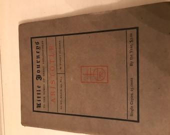 Little Journeys Aristotle by Elbert Hubbard 1904