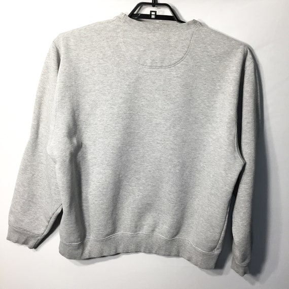 Details about Nike Athletics Dept 1971 Vintage Sweatshirt Mens XL Gray Pullover Crewneck