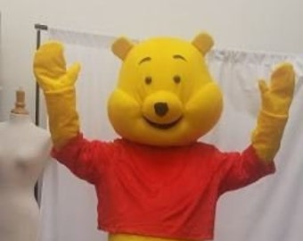a3d38e1d750 Winnie the Pooh Bear Mascot Costume HANDS for Adult