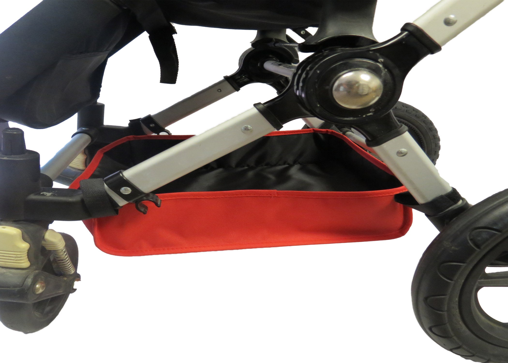 Bugaboo Cameleon 1,2,3 Baby Stroller Underseat Storage Bag Basket Gray Grey Frog