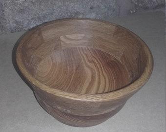 Segmented Ash and Walnut  bowl