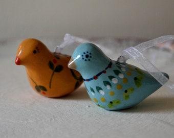 Ceramic Birds Hanging Decorations
