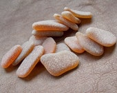 Bulk Quality Brown genuine sea glass 20 pendant pcs Frosted natural Spanish seaglass for Jewelry Crafts Sea glass Art 2cm-3,5cm 0,8 quot -1,4 quot