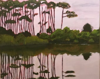 SOLD: Bird Sanctuary Pond at Dauphin Island