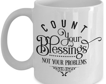 Count your blessings - mug