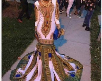 440c0479dfe Ankara dress for prom