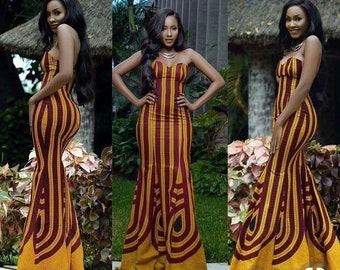 African Dresses For Women Etsy